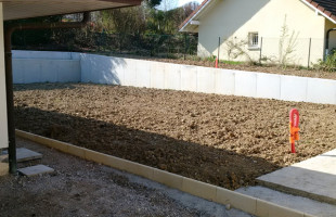 Aménagement de bordure (villa individuelle)
