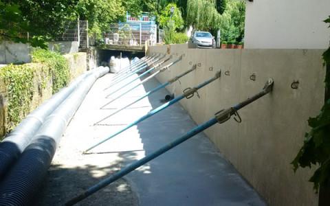 Aménagement du ruisseau L'Arande