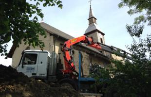 Rénovation d'une église